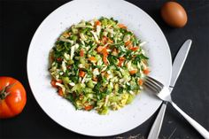 Our Earth Land: Scrambled Eggs With Veggies