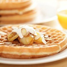 This page contains homemade waffle recipes. Waffles are a delicious breakfast food. The flavor possibilities are endless when making waffles at home.