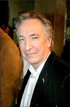 Alan Rickman attending the press night for 'Sunday In The Park With George' at London's Wyndhams Theatre. CREDIT:PICTURE PRESS.
