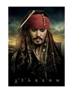 Johnny Depp. The only man alive who can pull off eyeliner and weird facial hair. ;)