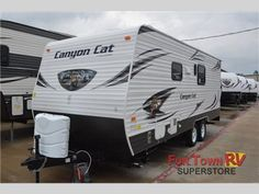 New 2015 Palomino Canyon Cat 21TUC Toy Hauler Travel Trailer at Fun Town RV | Cleburne, TX | #133429
