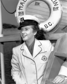 New post on cinenostalgia Best Movie Actors, Good Movies, Sea Captain, Captain Hat, Deanna Durbin, Nostalgia, Vintage Hollywood, Classic Hollywood, Diana