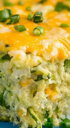 Cheesy Zucchini Casserole casserole squash and zucchini recipes; Zucchini Casserole, Vegetable Casserole, Casserole Dishes, Casserole Recipes, Cheesy Zucchini Rice, Zucchini Spaghetti, Zucchini Squash, Vegetable Recipes, Vegetarian Recipes