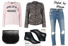 leopard jacket outfit - Styled by Manon