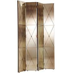 Stephan Antique Mirror Room Screen Item# art6199 $2495.00