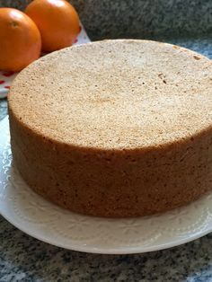 torta SIN GLUTEN de naranja