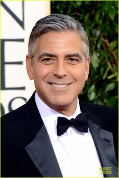 George Clooney had Bell's Palsy. A generally temporary weakness of the facial nerve, about 84% of patients have resolution of the weakness of the face caused by the Bell's Palsy.