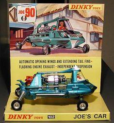 Dinky - Joe's Car - (actually Mac's car) from TV show Joe 90