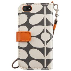 Buy Orla Kiely Optic Stem Wallet Case for iPhone 5 & 5s Online at johnlewis.com--usd 41.29$