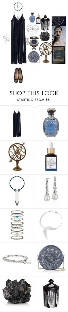 """""""fjarlaegur"""" by meme-violet ❤ liked on Polyvore featuring Aspire Home Accents, Gypsy, Lalique, Blue Nile, Accessorize, Garrard, Lane Bryant, McCoy Design and Fornasetti"""