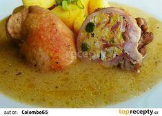 Brněnská plněná kotleta Potato Salad, Potatoes, Chicken, Meat, Ethnic Recipes, Food, Eten, Potato, Meals