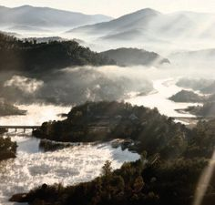 Paul Hagedorn - Inversion Fog II- Lake Burton, Georgia