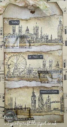 inkypinkycraft: Today is full of possibilities - My take on Tim's tag for July 2015