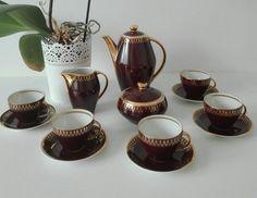 """Serwis do kawy """"Joanna"""" projektu Wincentego Potockiego"""
