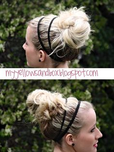 Great blog full of awesome hairstyle ideas, especially the messy bun (great for busy moms on the go)!