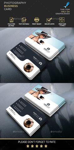 Modern Photography Business Card by BigBBang Black Business Card, Business Card Logo, Business Branding, Business Card Design, Photography Business Cards, Modern Photography, Web Design, Graphic Design, Brand Identity Design