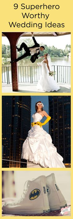 Be the hero of your big day with these super fun Superhero Worthy Wedding Ideas!
