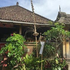 Penglipuran Village-Vila tradicional balinesa - detalhes da casa