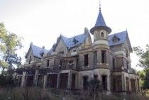 Abandoned castle in Rauch Buenos Aires