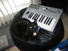 The original Luna pic with the Novation keyboard from 2007