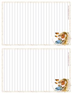 printable stationery fantasy writing paper