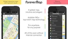 FOREVERMAP2 allows you to access maps of entire cities or countries without an internet connection.