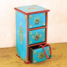 PAINTED JEWELRY BOX