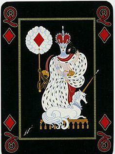 Queen of Diamonds - Erté
