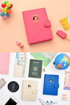 Bon Voyage Anti Skimming Passport Case helps me stay stress-free as I am traveling around the world! This colorful and wonderful passport case can carry everything I need for traveling, and the anti-skimming film protects all my information securely!