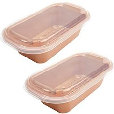 "Copper Chef 9"" Perfect Loaf Pan BOGO"