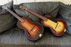 1933 Epiphone Zenith and Olympic