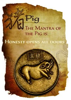 CHINESE YEAR OF THE PIG. Get in depth info on Chinese Pig personality and traits at http://www.examiner.com/article/the-chinese-zodiac-the-chinese-horoscope-astrology-the-year-of-the-pig For a more lighthearted look at the Chinese Pig go to http://www.examiner.com/article/a-funny-look-at-the-chinese-zodiac-sign-of-the-pig