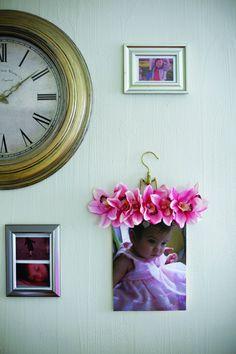 Floral Display Hanger: WDIY - fresh style magazine
