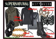Inspired by the CW's Supernatural starring Jared Padalecki and Jensen Ackles.