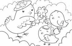 Dia das mães – desenhos para colorir