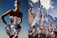Fashion: Bianca Luini pairs fashion with real life highlighting the beauty in both