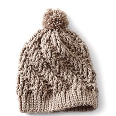 Crochet this Free Stepping Texture Hat Pattern
