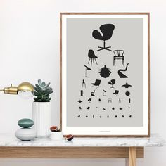 THE PERFECT EYE CHART FOR ALL DESIGN LOVERS