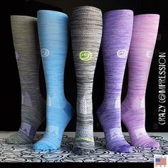 An American Supplier & Maker of Compression Socks and Compression Sleeves with an added touch of design. All made in the USA. www.crazycompression.com