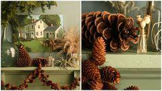 Dream State: Design*Sponge's DIY Christmas Pinecone Garland