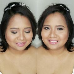#OnMyMakeupChair Fresh makeup for her civil wedding  Congratulations Dianne  Hair and Makeup by @loveaimeeg #MakeupByAimeeG #makeupartistph #makeupartist #hmua #hmuaph #mua #muaph #makeup #hairstylist #hair #beauty #WeddingsPh #BridesPh #BridalMakeup