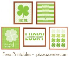 Free Printables- these are so cute.