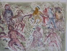 Choreograph II by David Koloane | DAVID KRUT PROJECTS