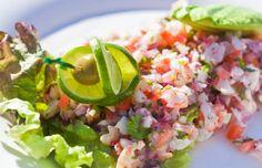 ¡Receta fácil y refrescante! Ceviche de camarones con coco al estilo Goya: http://www.sal.pr/recipe/ceviche-de-camarones-con-coco-2/ #RecetasGoya