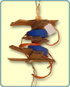 Cardboard Shreddable Bird Toys