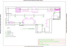 Projeto Residencial - Planta de Pontos Elétricos e Iluminação