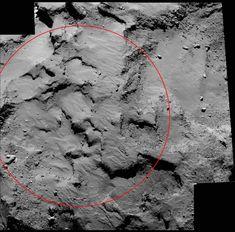 philae found! rosetta space science our activities esa - 700×690