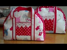 VIDEO TUTORIAL Another handbag for you to sew by Debbie Shore! Zipped and lined.