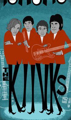 The Kinks, wat mij betreft beter dan de stones en beatles bij elkaar.