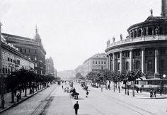 Ilyen is volt Budapest - Váci körút (Bajcsy-Zsilinszky út) Old Pictures, Old Photos, Vintage Photos, Most Beautiful Cities, Budapest Hungary, Rotterdam, Historical Photos, Tao, The Past
